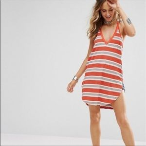 Free People Loui Stripe Color block Tunic XS